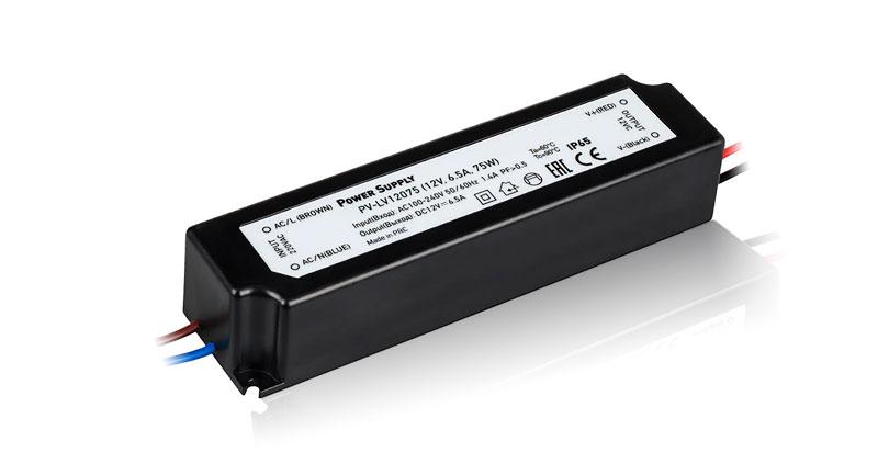 Компактные герметичные блоки питания IP67 на 12 Вольт (12V DC)