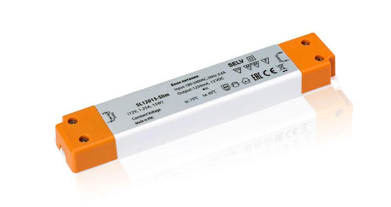 Сверхкомпактные блоки питания на 12 Вольт (12V DC)