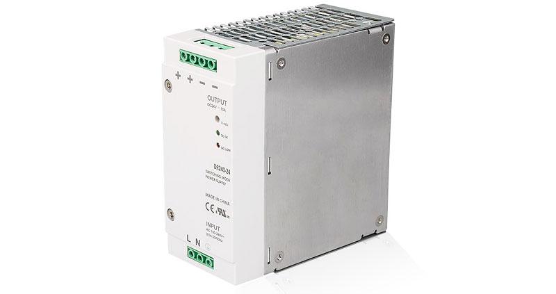 Блоки питания на DIN-рейку 24 Вольт (24V DC)