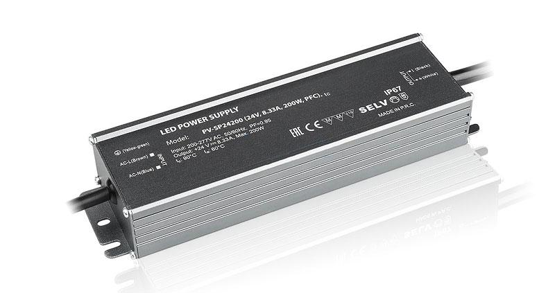 Компактные герметичные блоки питания IP67 на 24 Вольт (24V DC)