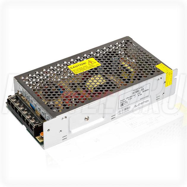 Блок питания 100W — 12V, 8.3A (Серия-H)