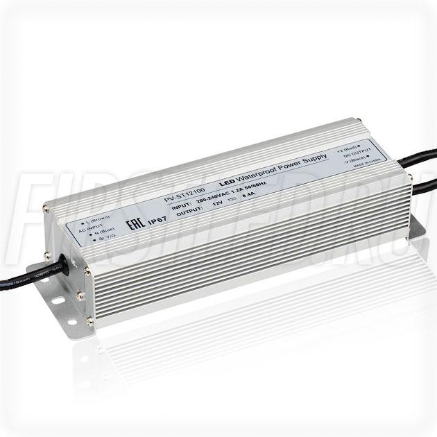 Блок питания 100W — 12V, 8.4A (IP67, Металл-ST)