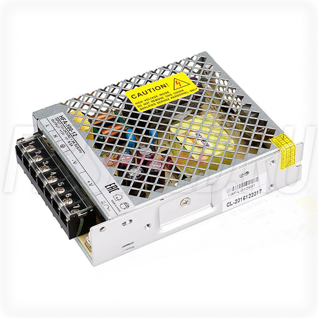 Блок питания 100W — 12V, 8.5A (Серия-HFA)