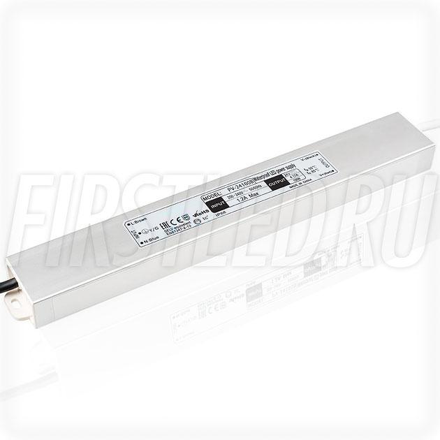 Блок питания 100W — 24V, 4.2A (IP66, Металл-B-Slim)