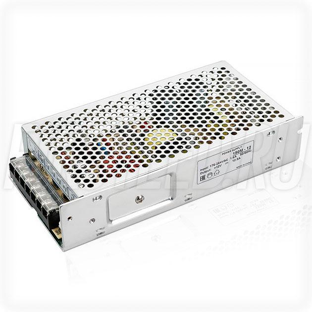 Блок питания 150W — 12V, 12.5A (Серия-M)