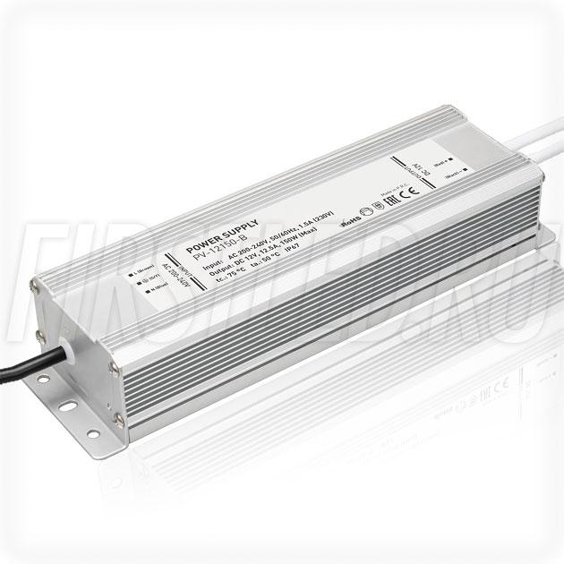 Блок питания 150W — 12V, 12.5A (IP66, Металл-B)