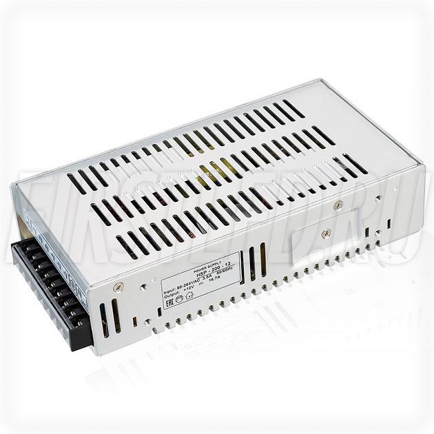 Блок питания 200W — 12V, 16.7A, PFC (Серия-HSP)