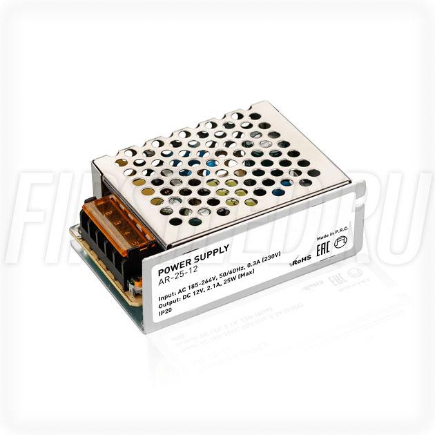 Блок питания 25W — 12V, 2.1A (Серия-AR)