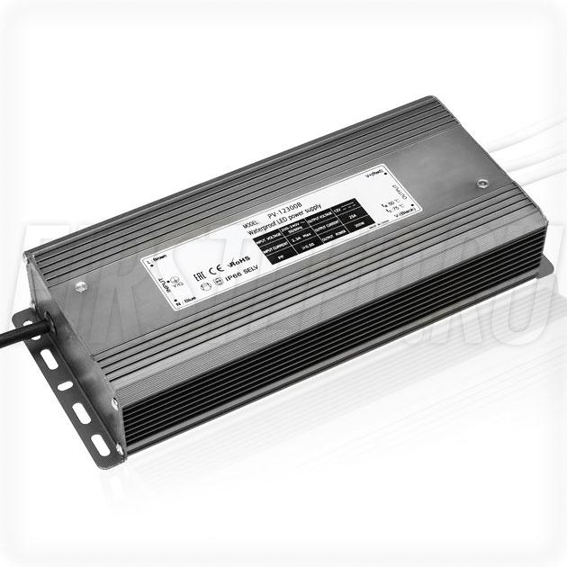 Блок питания 300W — 12V, 25A (IP66, Металл-B)