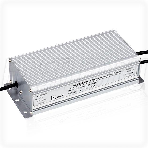 Блок питания 300W — 24V, 12.5A (IP67, Металл-ST)