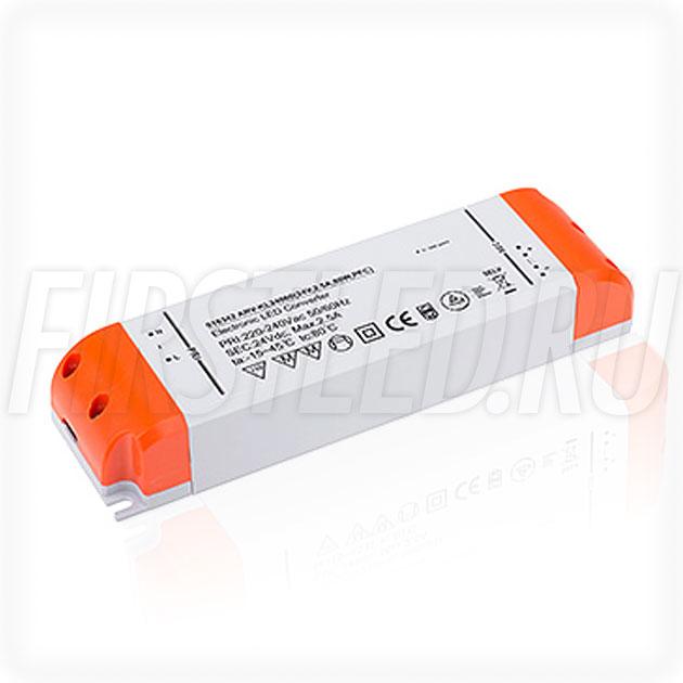 Блок питания 60W — 12V, 5A, PFC (Компактный, Пластик-KL)