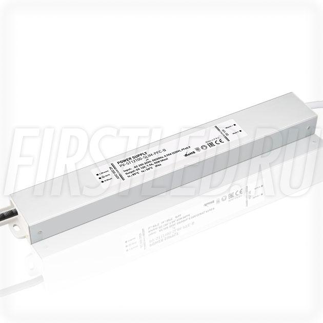 Блок питания 95W — 12V, 7.9A, PFC (IP67, Металл-STB-Slim)