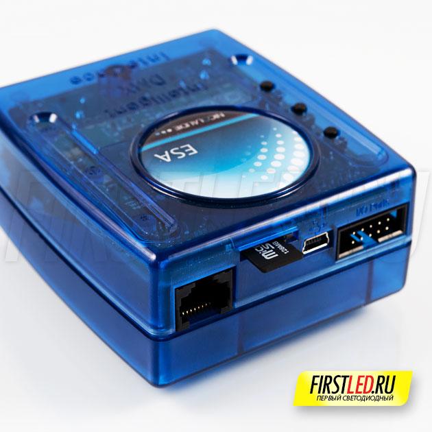 DMX контроллер SUNLITE SLESA-UE7 — подключение по Ethernet или mini USB, microSD память, HE10 Разъем 8 портов (255 бинарных)