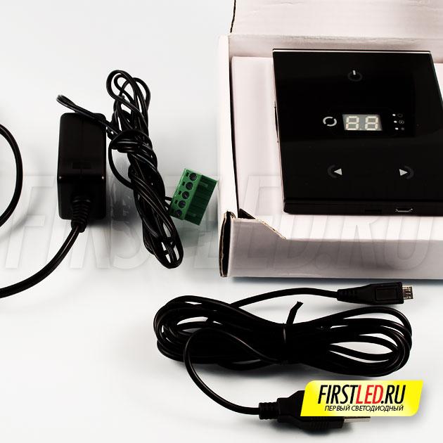Комплектация светодиодного сенсорного DMX контроллера STICK-GA2