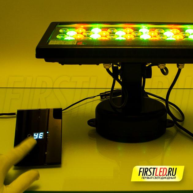 Управление цветом освещения при помощи STICK-GA2 по dmx каналу