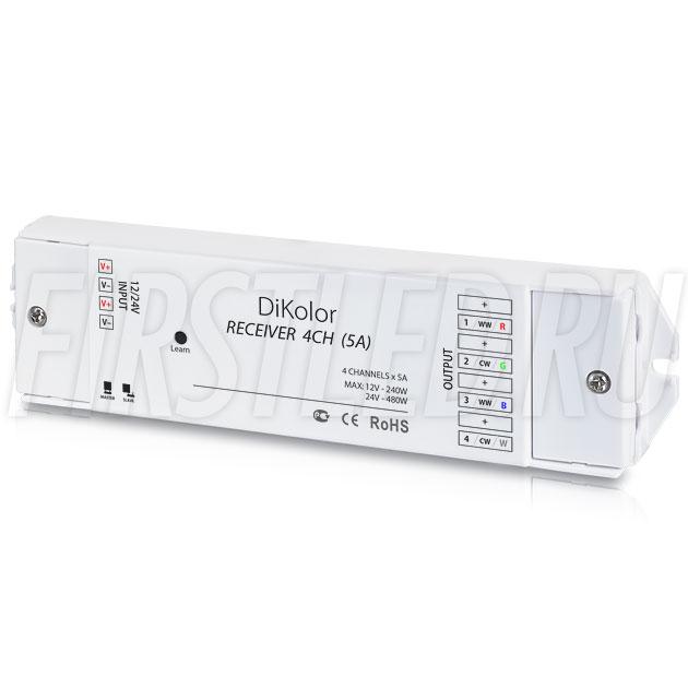 Приемник сигнала DiKolor RECEIVER 4CH (5A)