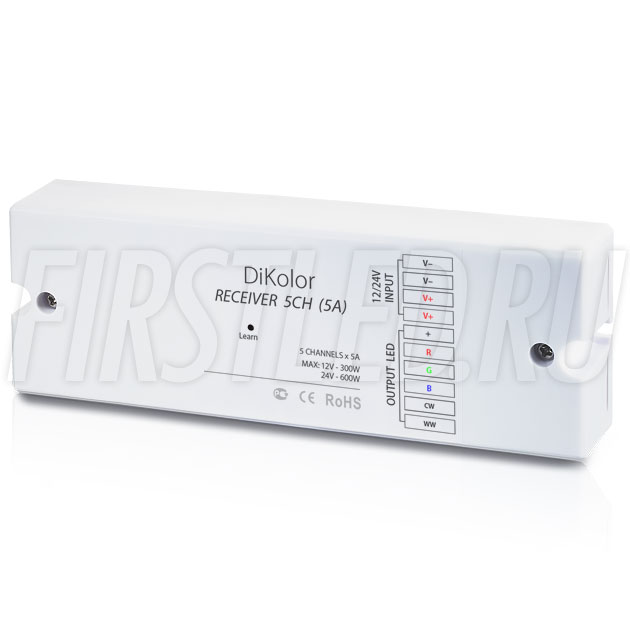 Приемник сигнала DiKolor RECEIVER 5CH (5A)