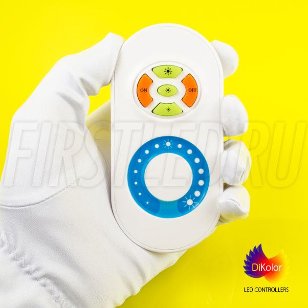 Светодиодный контроллер DiKolor JUST WHITE в белом исполнении