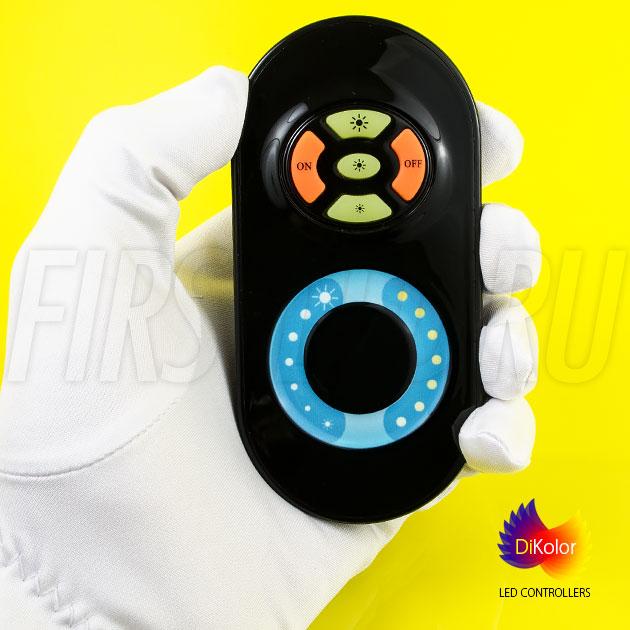 Светодиодный контроллер DiKolor JUST T-WHITE в черном исполнении