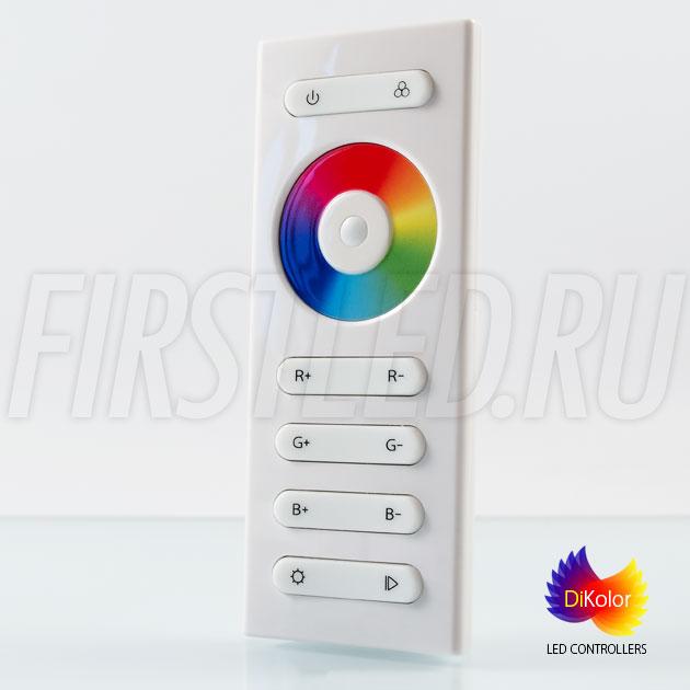 Удобный пульт управления многоцветной светодиодной подсветкой DiKolor EASY RGB