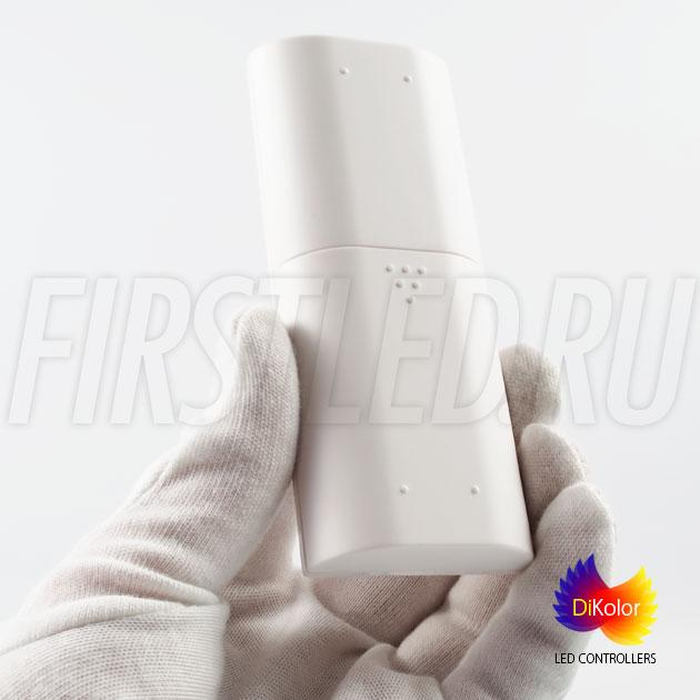 Пульт управления DiKolor EASY RGB выполнен из приятного на ощупь пластика