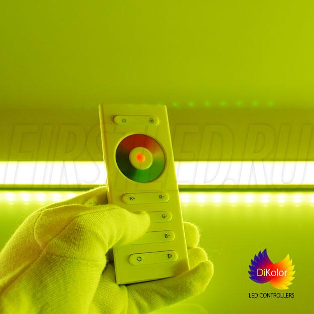 Управление rgb светодиодной лентой дистанционно при помощи контроллера DiKolor EASY RGB