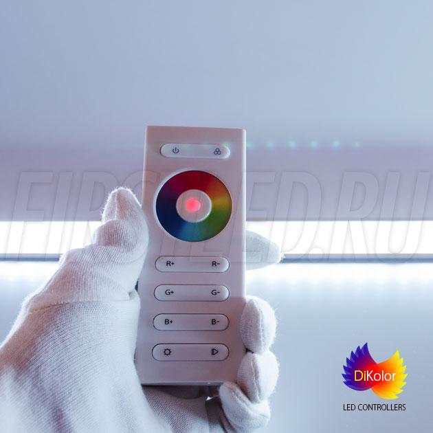 Добейтесь оптимального оттенка белого на rgb ленте при помощи пульта DiKolor EASY RGB