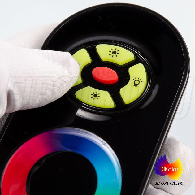 Светодиодный контроллер DiKolor JUST RGB (черный пульт)