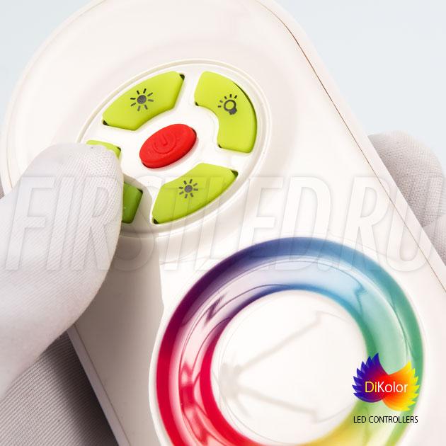 Светодиодный контроллер DiKolor JUST RGB (белый пульт)