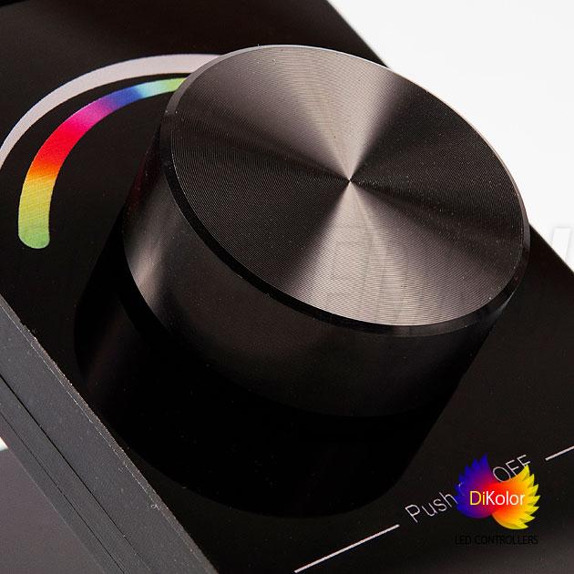 Дистанционный контроллер DiKolor Table RGB — простое управление с помощью одного колеса!