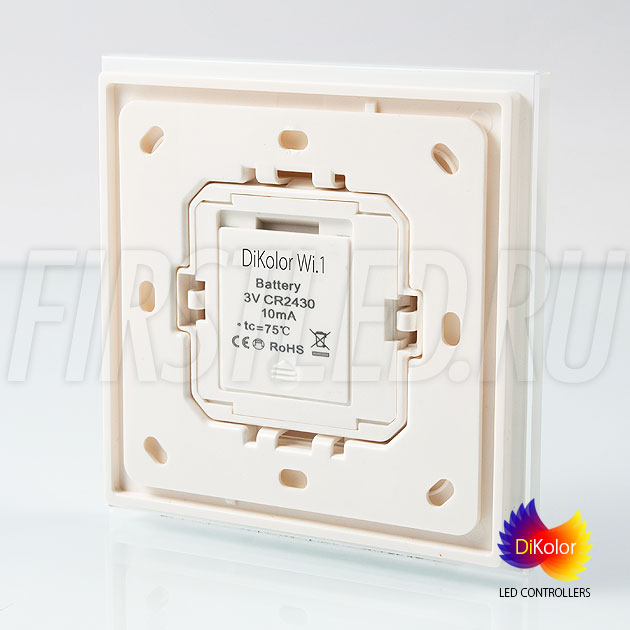 Настенный кнопочный светодиодный контроллер DiKolor BUTTON 1