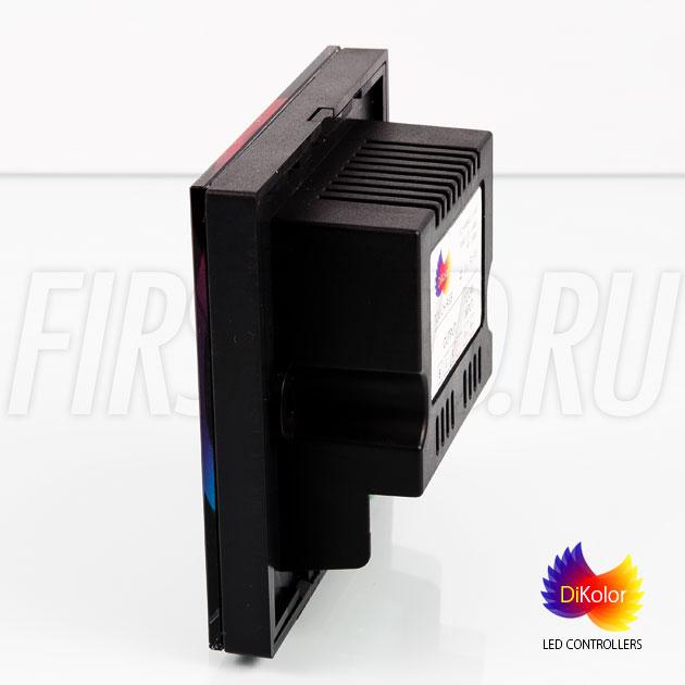Светодиодный контроллер DiKolor TOUCH RGB встраивается в стену