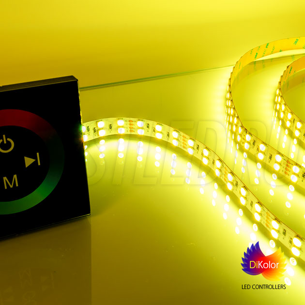 Светодиодный контроллер DiKolor TOUCH RGB + многоцветная лента IAMLED RGB 120