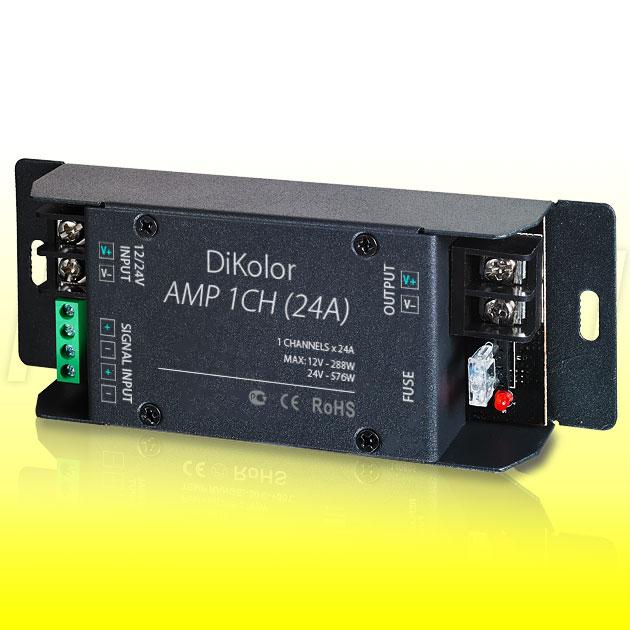 Усилитель мощности DiKolor AMP 1CH (24A)
