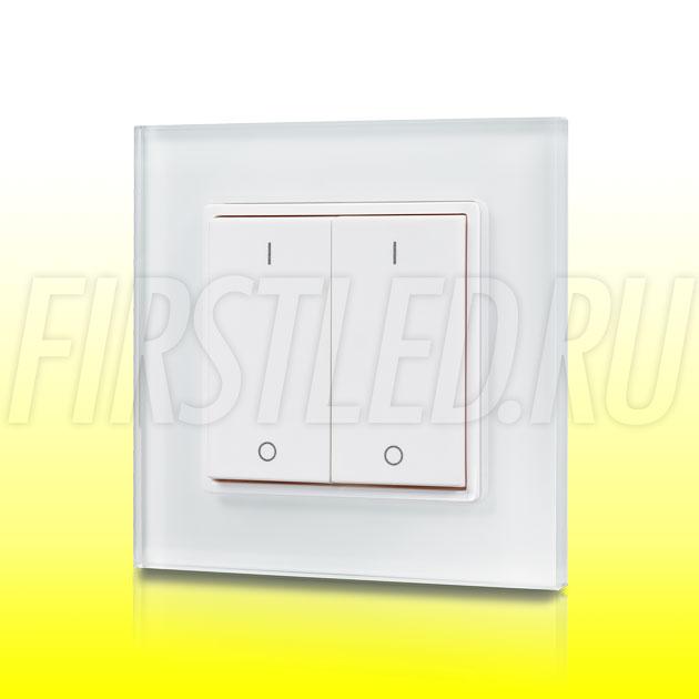Настенный кнопочный светодиодный контроллер DiKolor BUTTON 2