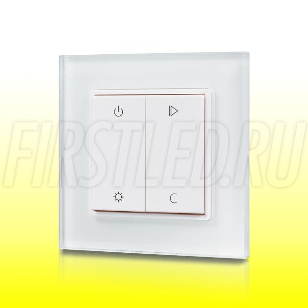 Настенный кнопочный светодиодный контроллер DiKolor BUTTON RGBW