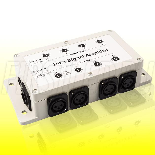 DMX усилитель DiKolor DMX AMP 8CH (12/24V)