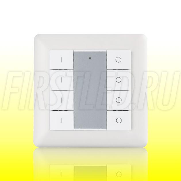 Настенный кнопочный светодиодный контроллер DiKolor PUSH 4