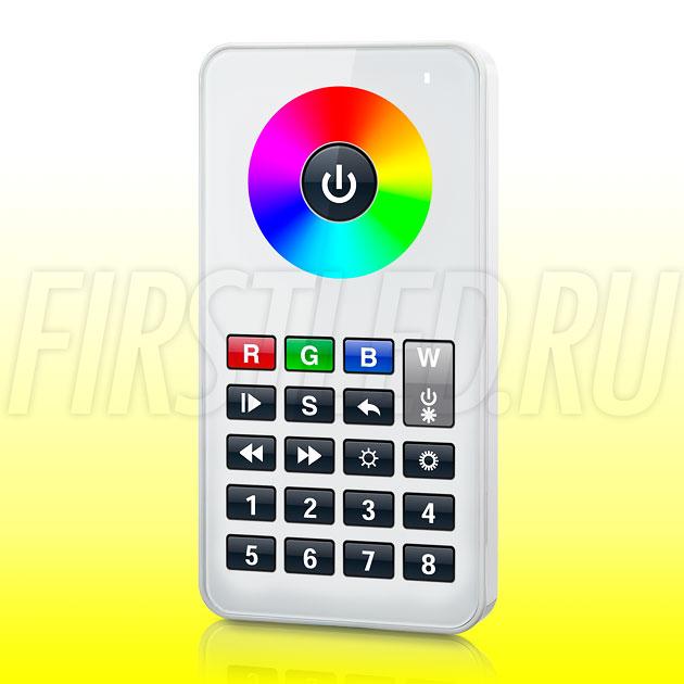 Светодиодный контроллер DiKolor RGBW i8 (белый пульт)