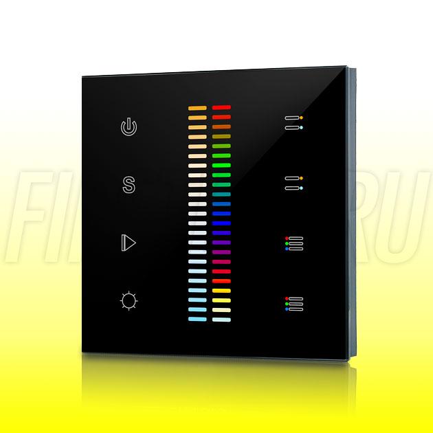Настенный сенсорный светодиодный контроллер DiKolor SCALE RGB MULTIWHITE 2