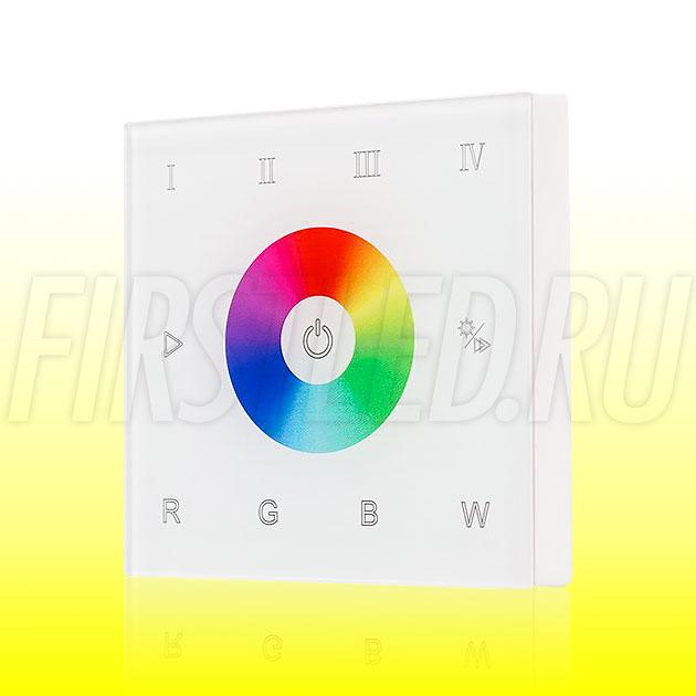 Настенный сенсорный светодиодный контроллер DiKolor SLIM SENS RGBW