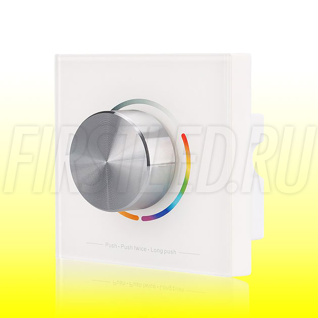 Настенный поворотный светодиодный контроллер DiKolor SLIM TWIST RGB