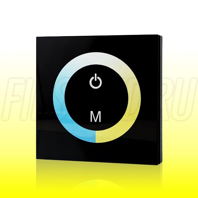 Настенный сенсорный светодиодный контроллер DiKolor TOUCH T-WHITE