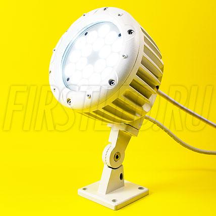 Одноцветный светодиодный DMX прожектор HALO WHITE