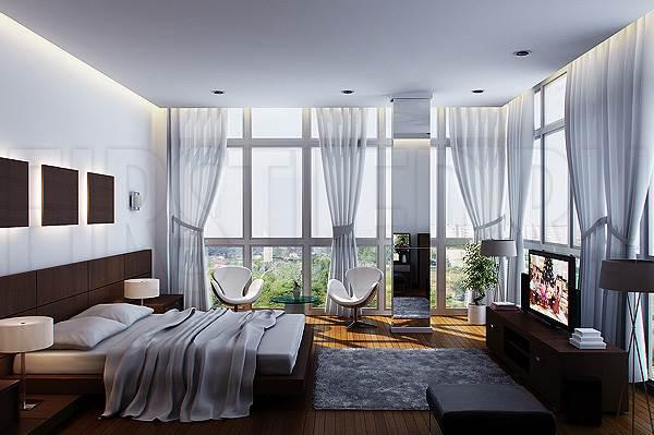 Светодиодная подсветка потолка и потолочных ниш в спальне