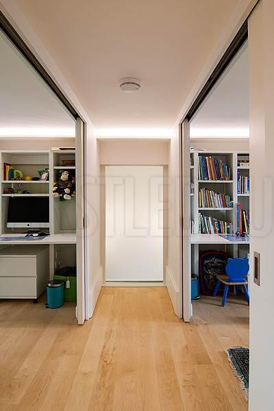 Светодиодная подсветка потолка и потолочных ниш в коридорах