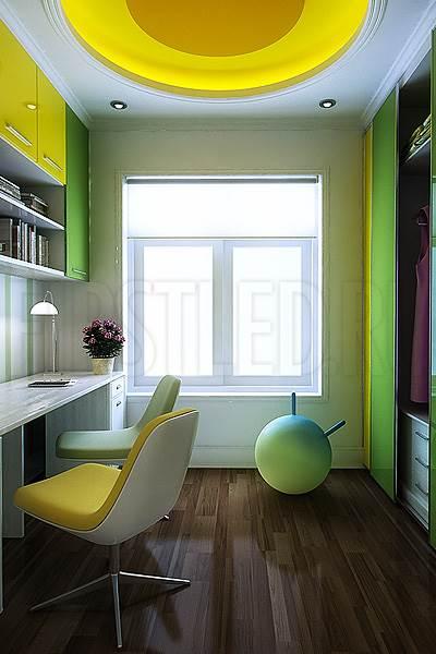 Светодиодная подсветка потолка и потолочных ниш в детской комнате