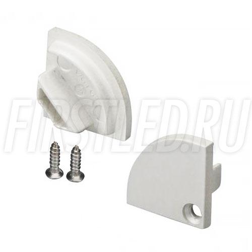 Заглушки для углового светодиодного алюминиевого профиля TALUM C15.15