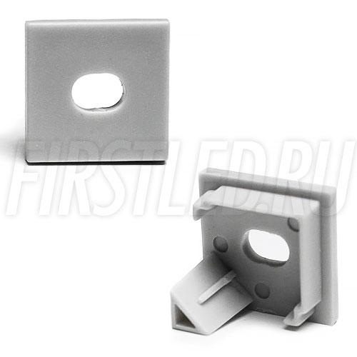 Заглушки для светодиодного профиля TALUM C16.16K (с отверстием)