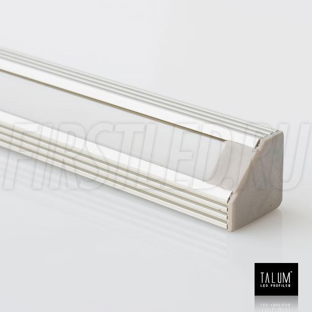 Угловой алюминиевый профиль TALUM C19.19 (анодированный)